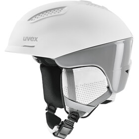 UVEX Ultra Pro Helm, wit/grijs